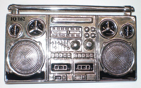 IQ 162 -. Gürtelschnalle Radio