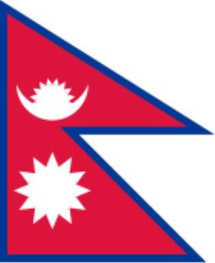Länderfahne Nepal