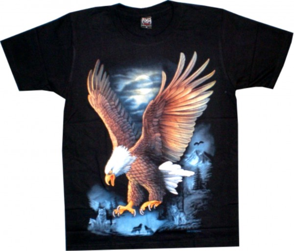 T-Shirt fliegender Adler