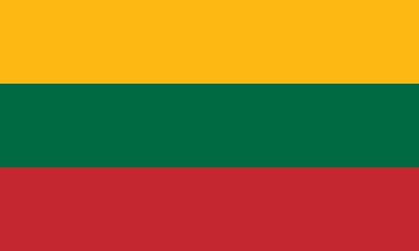 Länderfahne Litauen