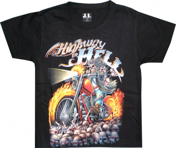 Kinder T-Shirt Highway to hell