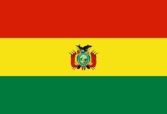 Länderfahne Bolivien