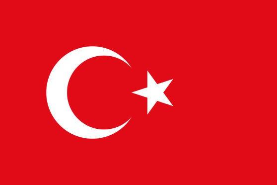 Länderfahne Türkei
