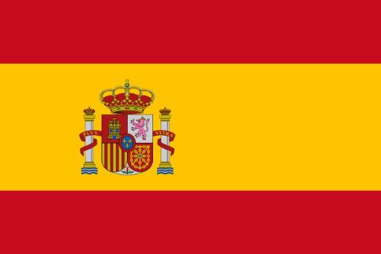 Länderfahne Spanien