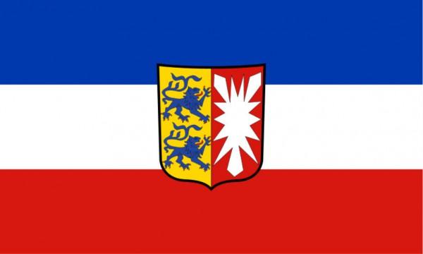 Stockfahne / Stockflagge Schleswig-Holstein