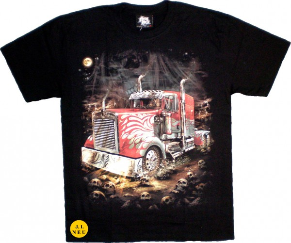 GTS113 - T-Shirt - Truck - Glow in the dark