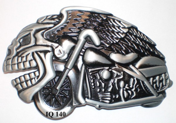 IQ 140 - Gürtelschnalle Bike