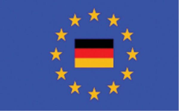 Länderfahne Europa mit BRD