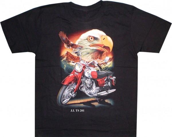 TS 201 - T-Shirt Adler + Bike