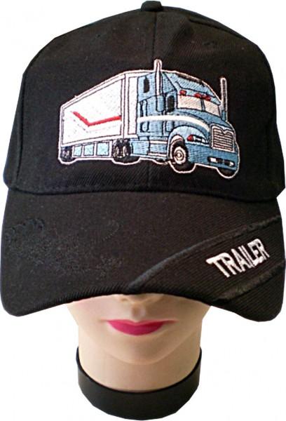 Cap07 - Cap mit Truck/Trailer bestickt