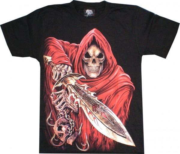 T-Shirt HD/Glow in the dark - Skull
