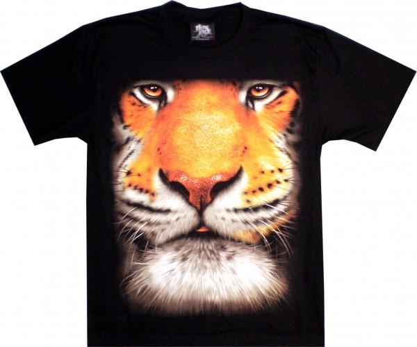 T-Shirt - Tiger - beidseitig farbig bedruckt