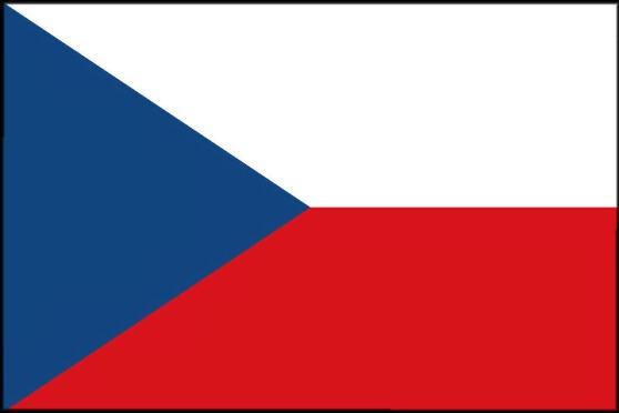 Länderfahne Tschechien
