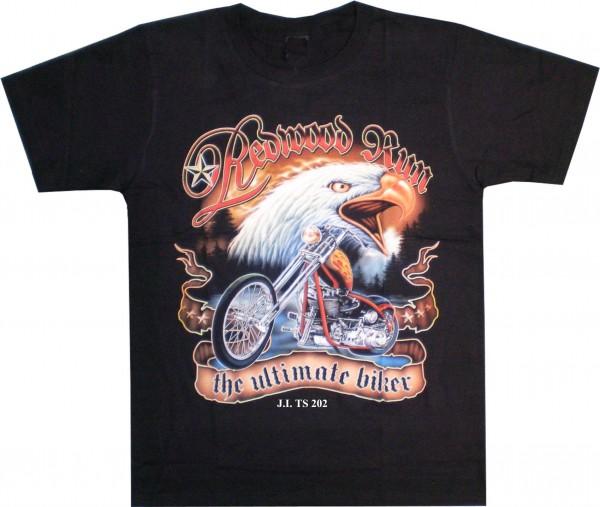 """T-Shirt Adler + Bike """"the ultimate biker"""""""