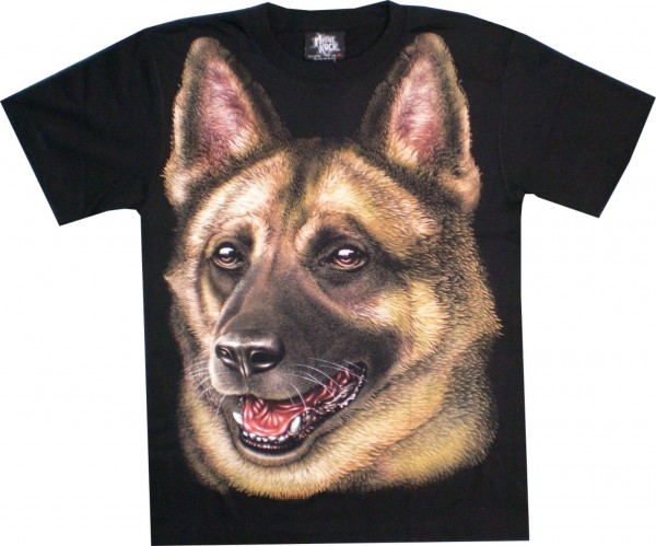 T-Shirt HD / Glow in the dark - Schäferhund