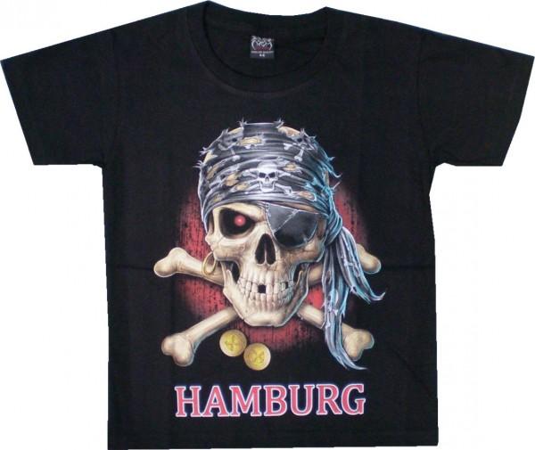 KTS 19 - Kinder T-Shirt Pirat Hamburg