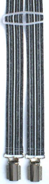 HHT97 - Hosenträger - 4 Clips - H-Form schmal