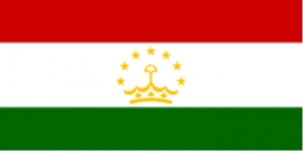Länderfahne Tajikistan