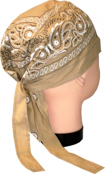 Bikertuch - Zandana - Kopftuch - Bandana - Baumwolle in vielen Farben