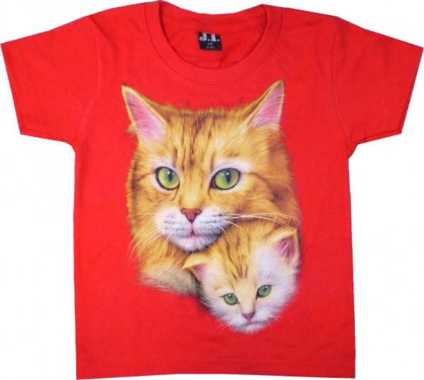 Kinder T-Shirt Katzen
