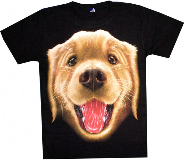 T-Shirt - Labrador - Glow in the dark