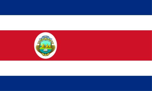 Länderfahne Costa Rica