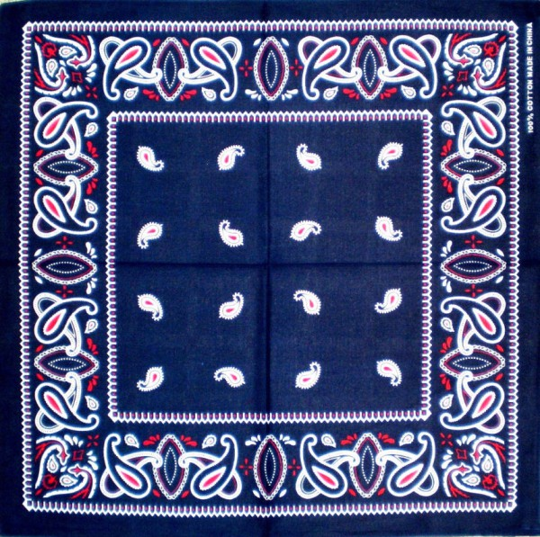 Nicki-Tuch - Bandana - Halstuch - Kopftuch in 4 Farben