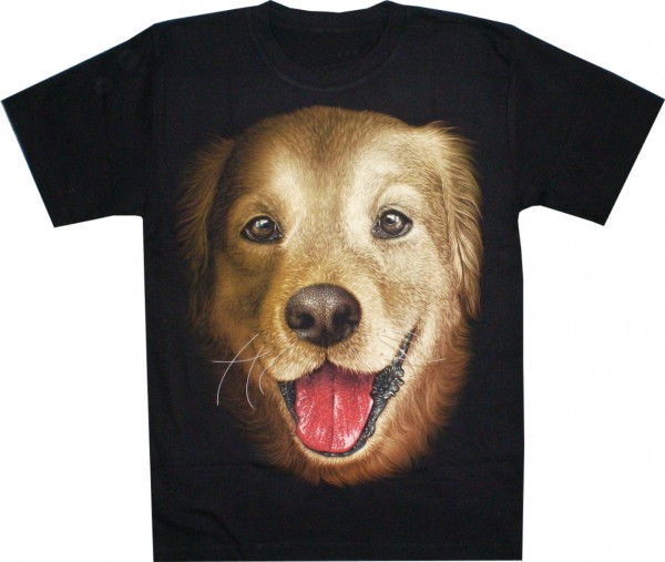 T-Shirt - Hund - Labrador - beidseitig farbig bedruckt