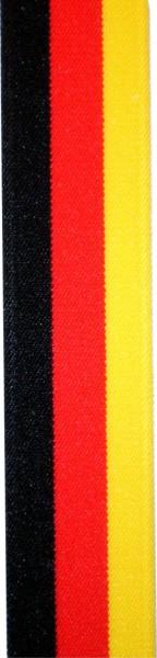 HT71 - Hosenträger - Y-Form - 3 Clips - BRD-Farben