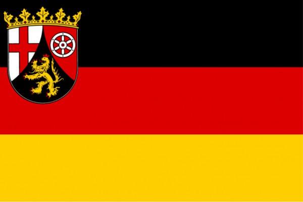 Länderfahne Rheinland-Pfalz