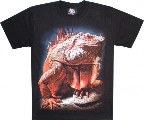 GTS172 - T-Shirt - Leguan - Glow in the dark