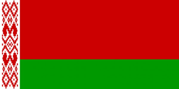 Länderfahne Weissrussland