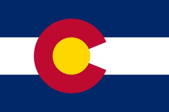 Länderfahne Colorado
