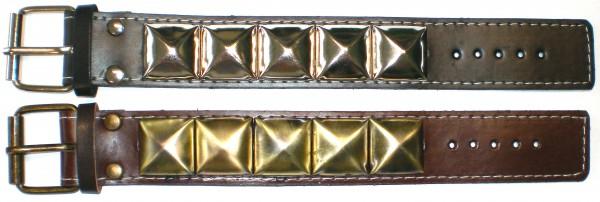NAB 1802 - Nieten-Armband - 5 große Pyramidennieten