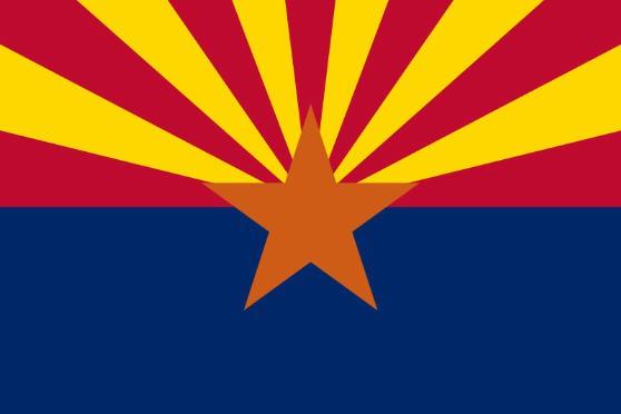 Länderfahne Arizona