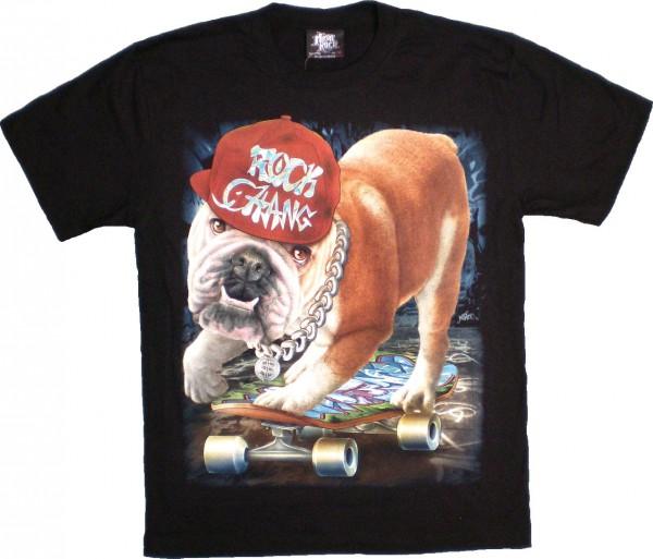 T-Shirt - Hund - Glow in the dark