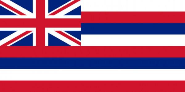 Länderfahne Hawaii