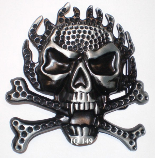 IQ 149 - Gürtelschnalle Pirat