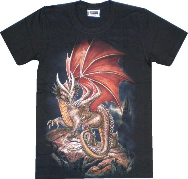 ETS 24 - T-Shirt mit Drachen - beidseitig farbig bedruckt