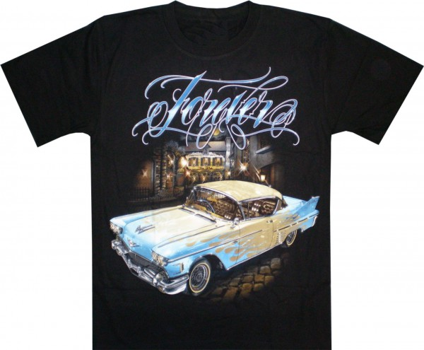 T-Shirt - Oldtimer Forever - beidseitig farbig bedruckt