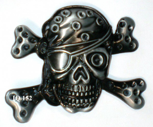 IQ 152 - Gürtelschnalle Pirat