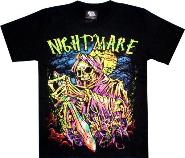 T-Shirt - Nightmare l- beidseitig farbig bedruckt