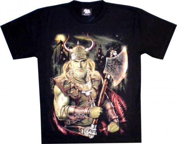 GTS183 - T-Shirt - Wikinger - Glow in the dark