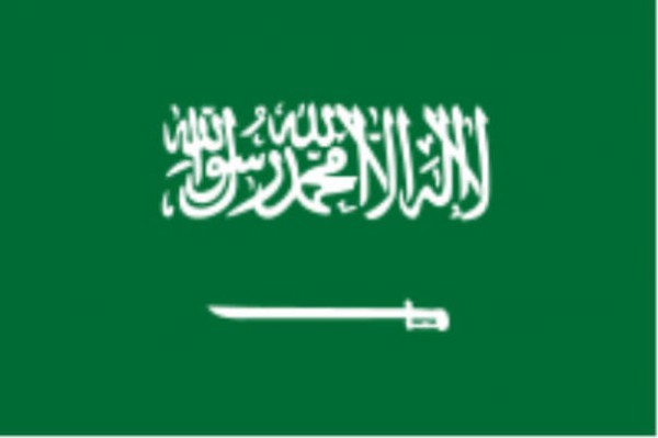 Länderfahne Saudi Arabien