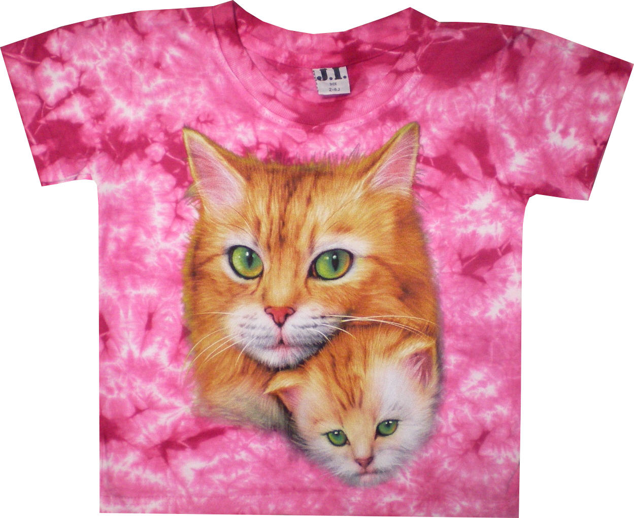 Kinder T Shirt In Batik Mit Katzen Modetrends Red Blouse Sj0015 Iqbal Onlineshop