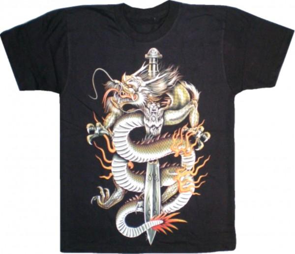 T-Shirt Drache