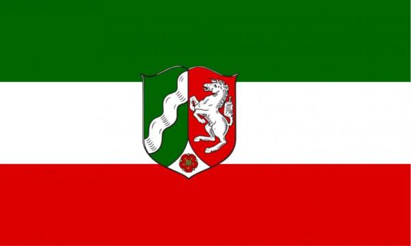 Länderfahne Nordrhein-Westfalen