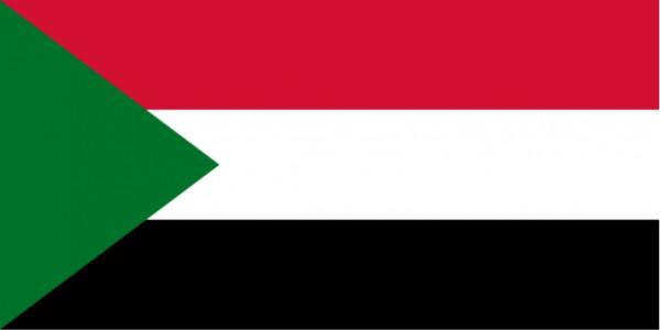 Länderfahne Sudan
