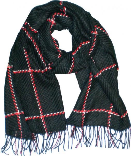 XL Schal - Damen-Schal - Strickschal - Webschal - kariert