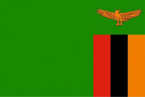 Länderfahne Sambia